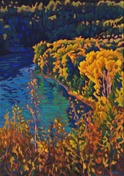 Gill Creek, Skeena Views by Sherry Nielsen