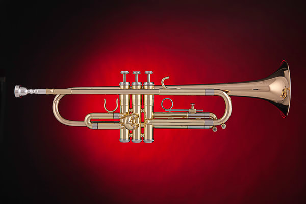 Trumpet Color Art Photographs for Canvas, Metal, or Paper Prints