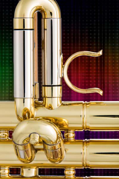Trumpet Valve Slide In Color 2501.12