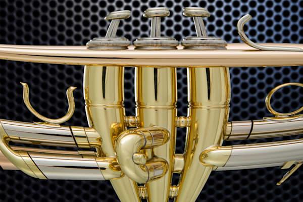 Trumpet Valves on Meetal Plate 2501.20