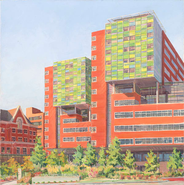 Johns Hopkins Zayed Building / Print
