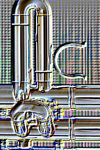 Embossed Trumpet Valve Slide 2504.75