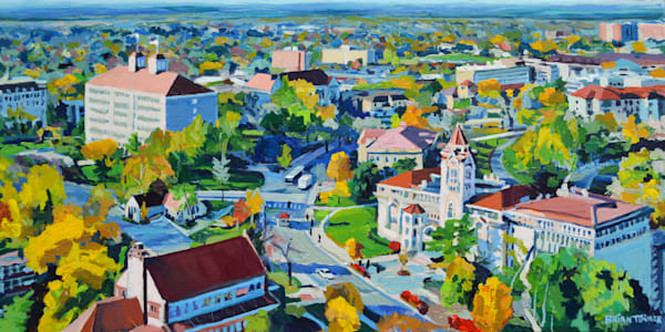 The University of Kansas painting