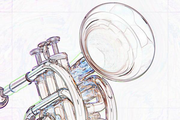 Classic Cornet Watercolor 2506.20