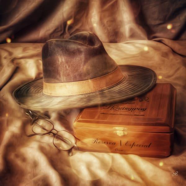 Hat, Glasses, Hemingway, Fine Art Photograph