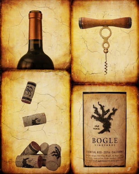 Wine Bottle Fine Art Photograph