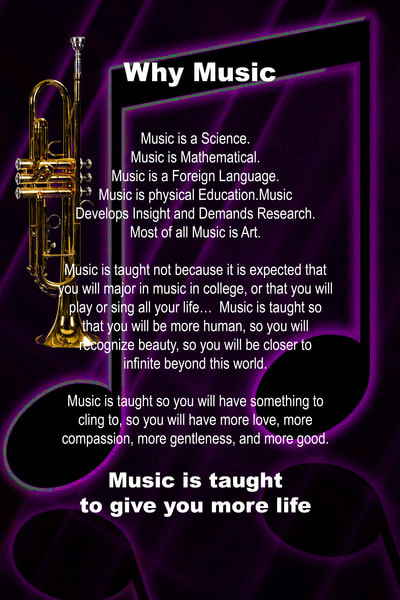 Why Music Trumpet Poster 2507.51