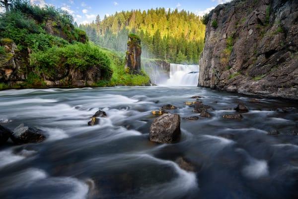 1880 Lower Mesa Falls