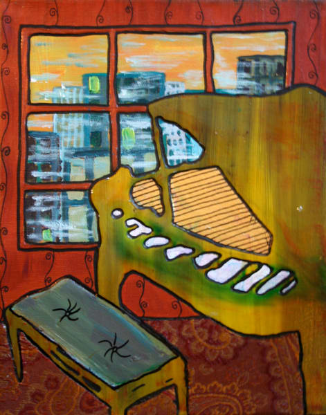 Piano in the Window