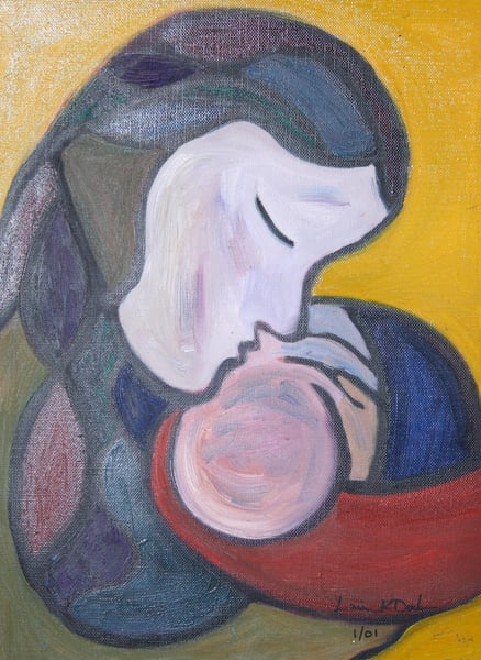 Mother And Child Art | laineek