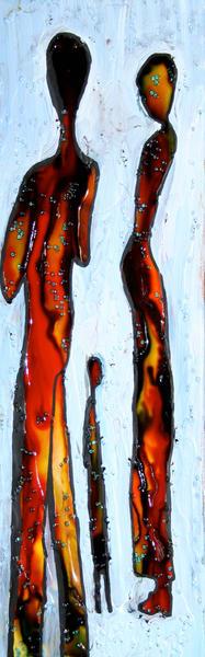 Three In The Snow Art | laineek