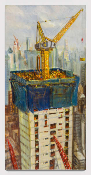 constructing tower one Manhattan west