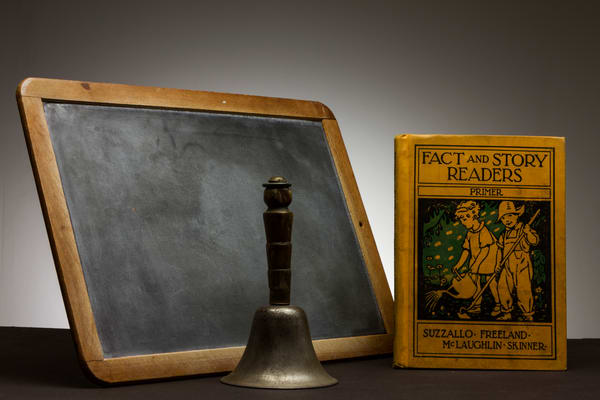 A Fine Art Photograph of an Old Fashioned Story Book by Michael Pucciarelli