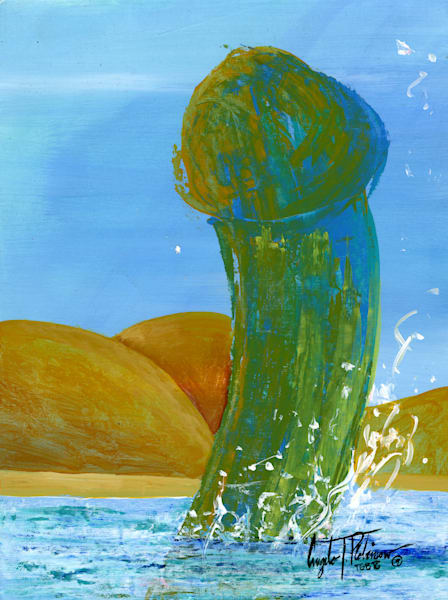 ATR Fine Art- Humanscape- Penis art- Figure Painting by Navy Veteran Angelo T Robinson