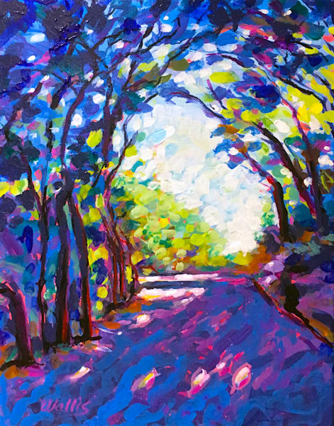 The Shady Lane  Art | Charles Wallis