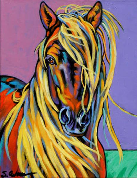 Blondie Art | Sally C. Evans Fine Art