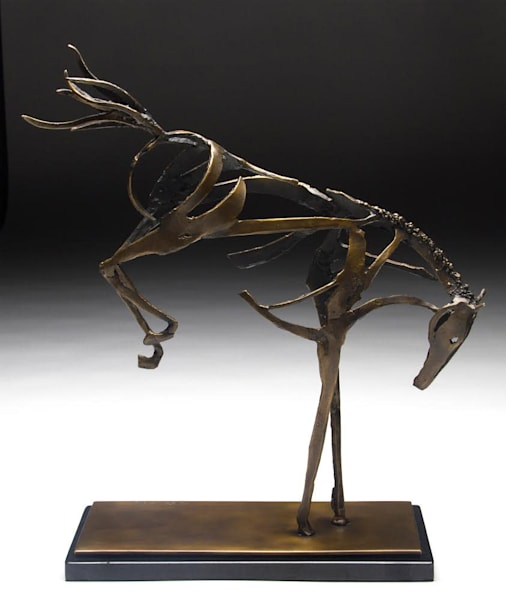 Horse Sculpture | Bucking Spirit | Southwest Gallery Tucson