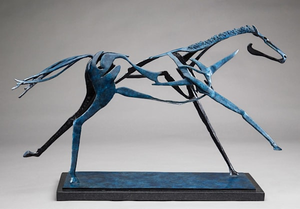 Horse Sculpture | To the Wire | Southwest Art Gallery Tucson