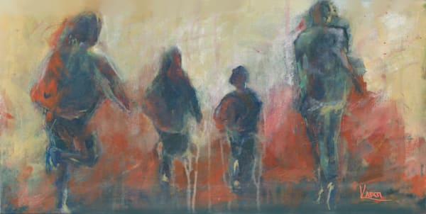 """I'm Off And I'm Running"" by Karen Harkema   Prophetics Gallery"