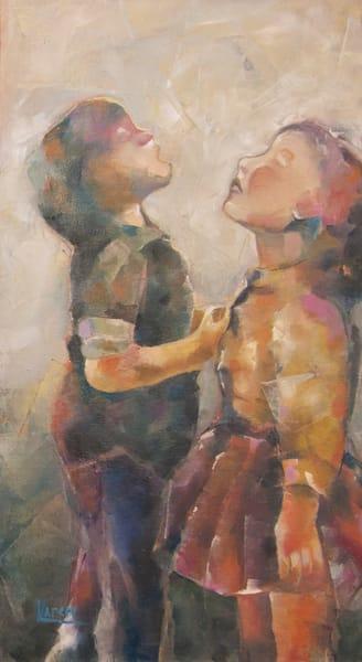 """""""A Chorus Of Children's Voices"""" by Karen Harkema   Prophetics Gallery"""