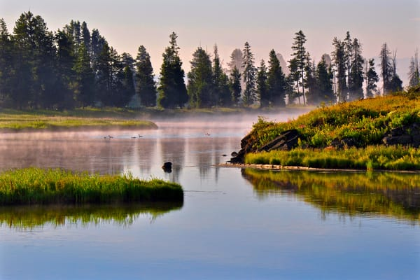 1253 Morning on The Henry's Fork River
