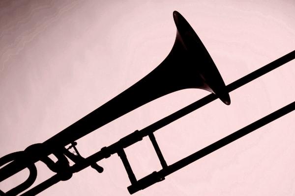 Trombone Silhouette Wall Art 2608.41