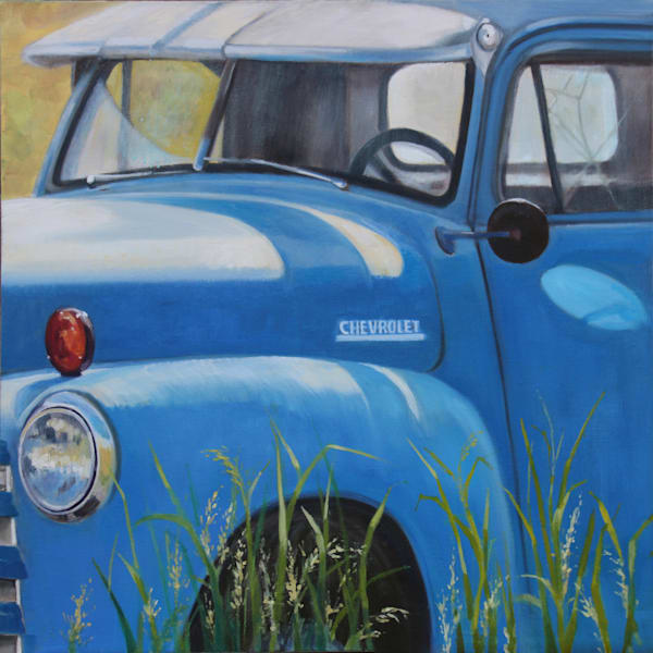 Sunkissed Chevy Art | Wendy Marquis Art