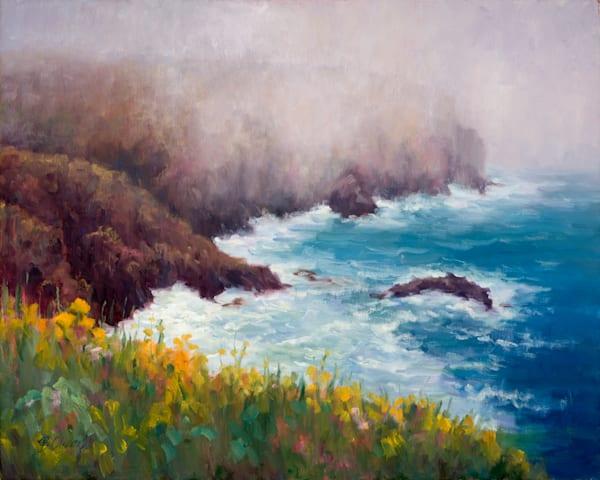 Pacific Mist Art   B. Oliver, Art