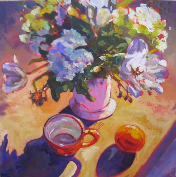 Orange Cup Art | Jill Charuk Art