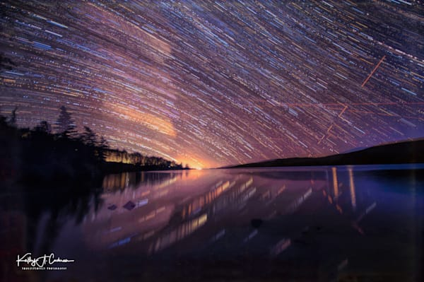 Lake Fremont Star Trails From Below Photography Art | Images2Impact