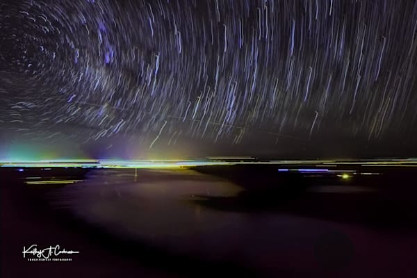 Star Trails Over Lake Fremont Overlook Photography Art | Images2Impact
