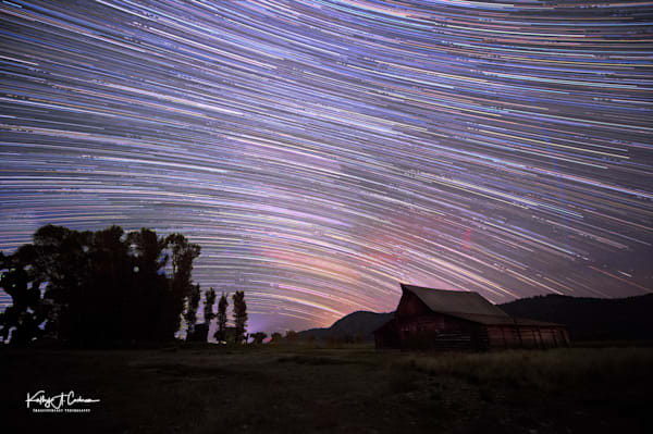 Moulton Barn star trails