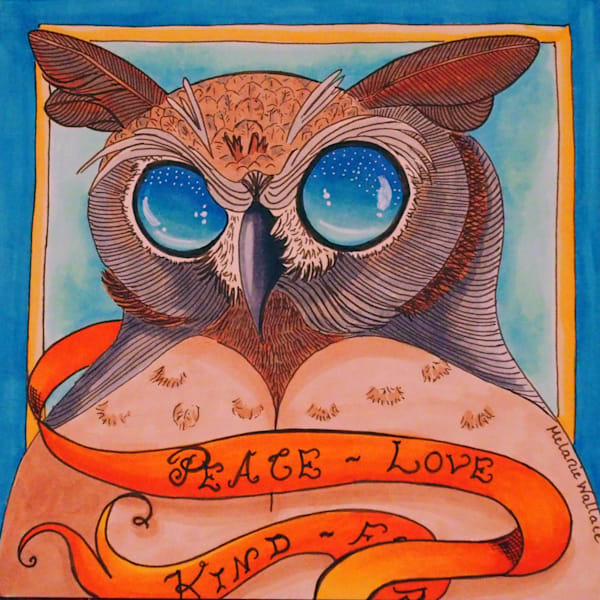Wise Owl - Original