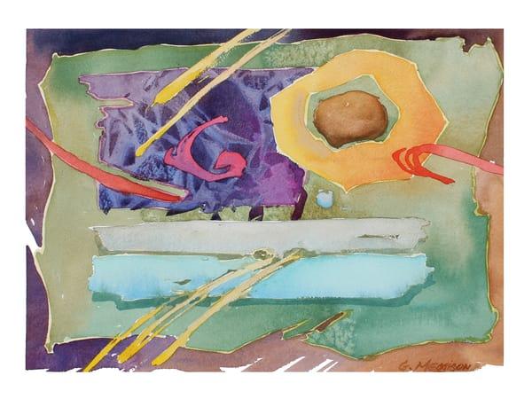Personal Calligraphy   Abstract Watercolors   Gordon Meggison IV