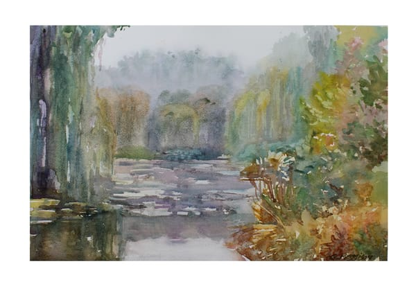 Mists of Florida | Watercolor Landscapes | Gordon Meggison IV