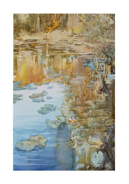 Arboretum Color | Watercolor Landscapes | Gordon Meggison IV