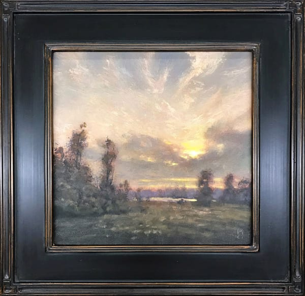 Peaceful Sunrise   Sold Art | Michael Orwick Arts LLC