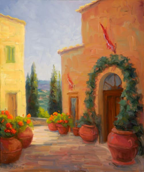 Pienza Passage Art | B. Oliver, Art