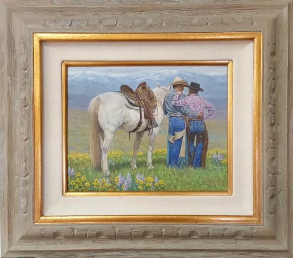 Original Oil Paintings by Western Artists on Canvas, Linen and Paper