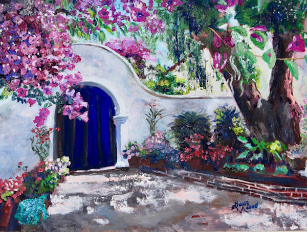 """Mission San Diego"" by Sharon Adams 