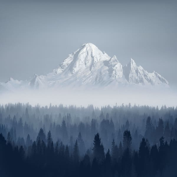 Portrait Of Mt.Baker  Art | James Alfred Friesen