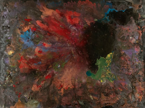 caroline pyle galactic formation abstract art
