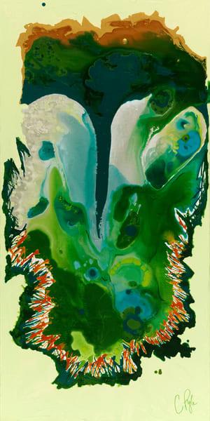 Caroline Pyle abstract art Peer into Paradise