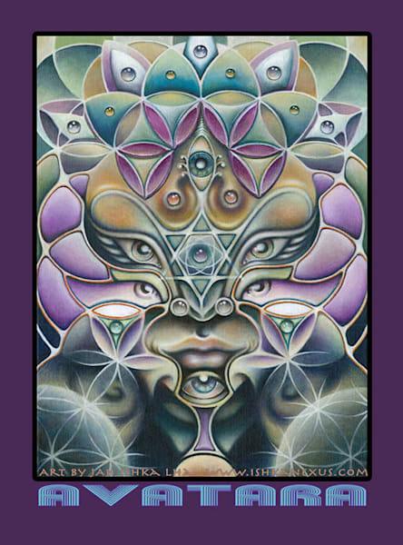 Avatara   Sticker | The Art of Ishka Lha