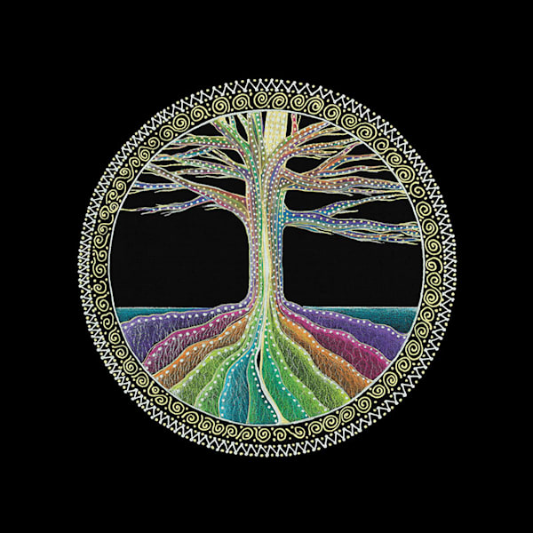 Tree of Life fine art print by Laural Virtues Wauters.
