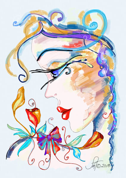 Expressive-Faces, Modern Expression Style Art Prints and Paintings