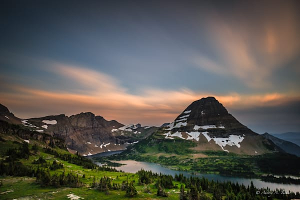 Hidden Lake Fine Art Photograph