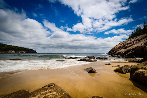Golden Sand Beach Fine Art Photograph