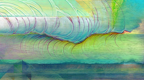 New Swell Painting by Spencer Reynolds