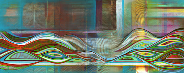 Symbiosis No 8 Painting by Spencer Reynolds
